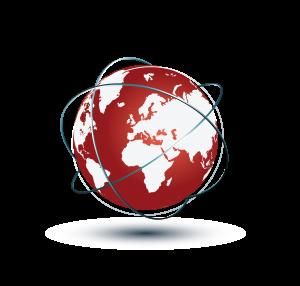 Shout out UK logo globe