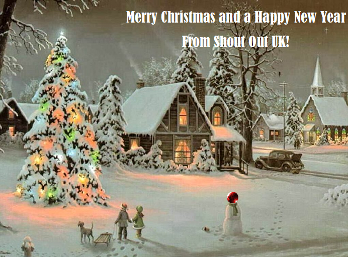 Merry Christmas From Shout Out UK!