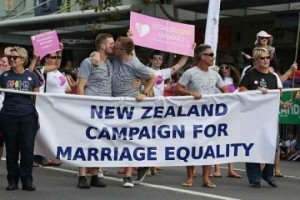 Gay Marriage legalised in New Zealand
