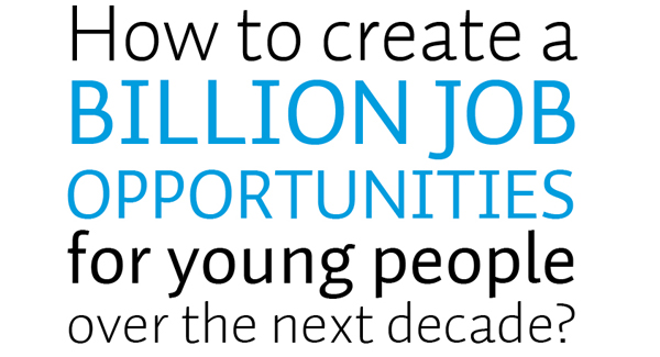 The International Youth Jobs Creation Summit: How to Create 1 Billion Jobs?