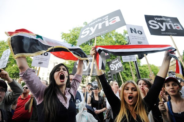 Deal to avert United States of America's strike of Syria.