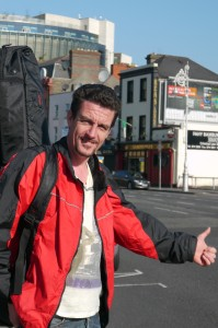MONEYLESS MISSION CONTINUES ACROSS EUROPE: Colin Turner