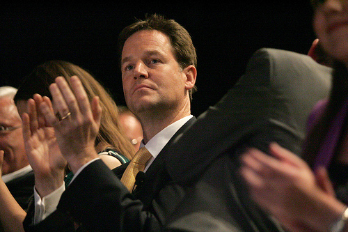 I don't agree with Nick Clegg, do you?