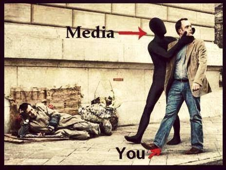 Where's our humanity gone? Is the Media blinding you?