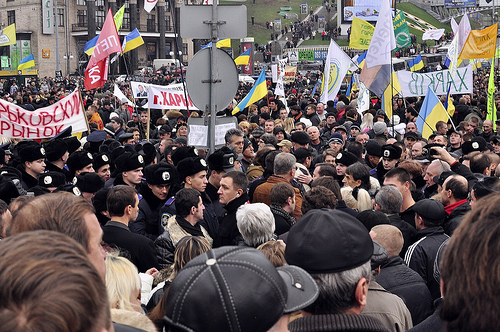 World Review: Ukraine Protests continue
