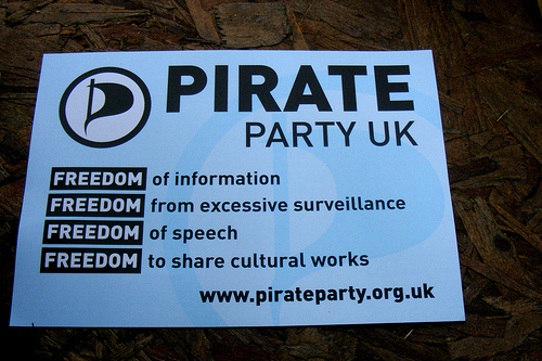 Interview with UK Pirate Party leader, Loz Kaye