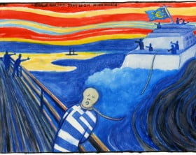 22.02.12: Steve Bell on the Greece bailout