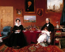 The_Langford_Family_in_their_Drawing_Room)_by_James_Holland,_RWS