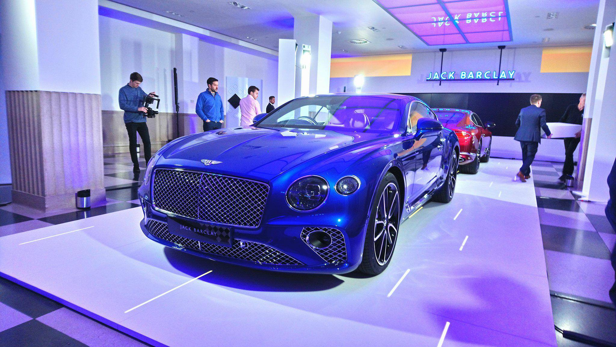 Unleashed The Bentley Continental GT