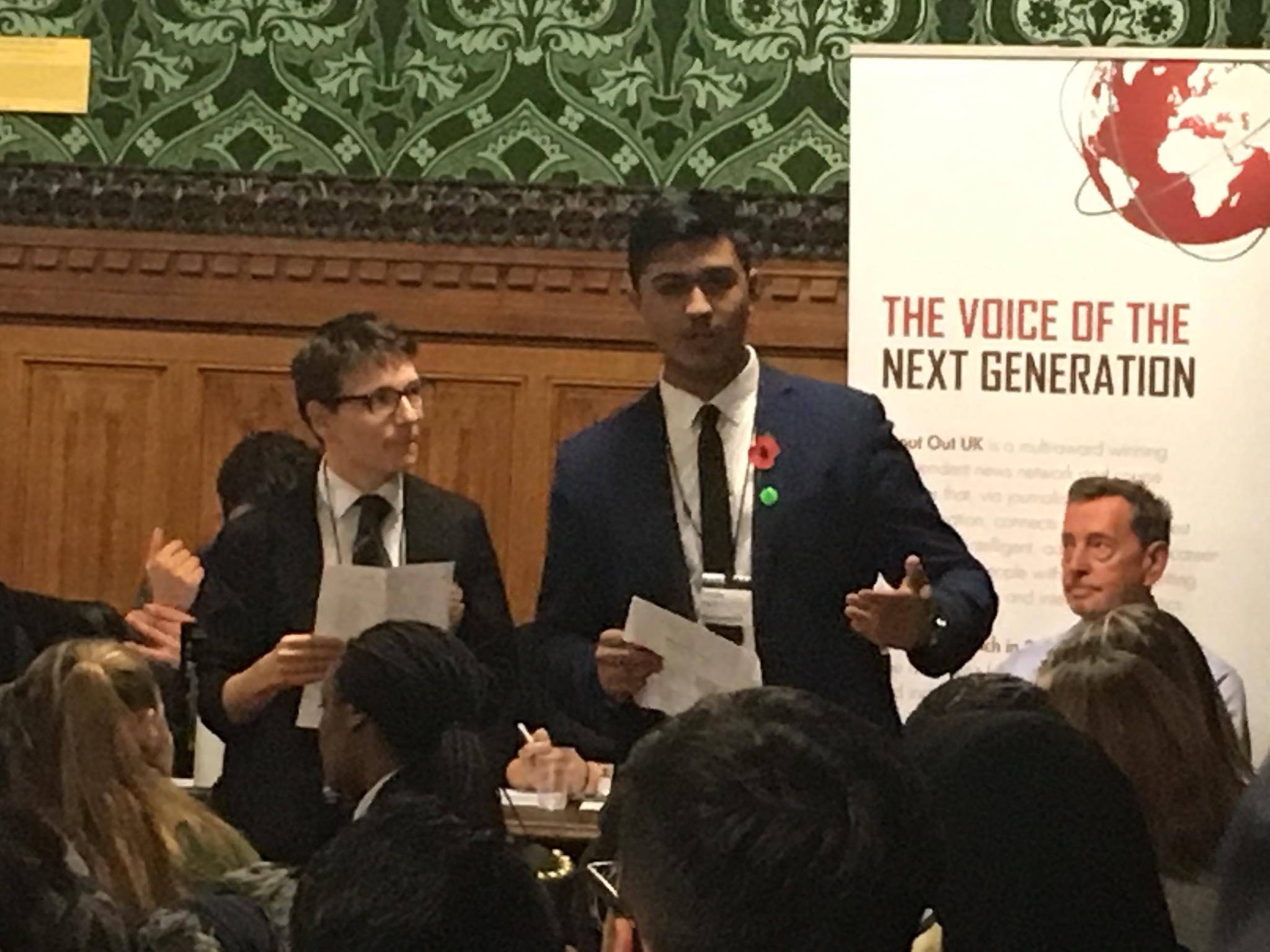 Shout Out UK Celebrates Political Literacy for Parliament Week Yesterday!