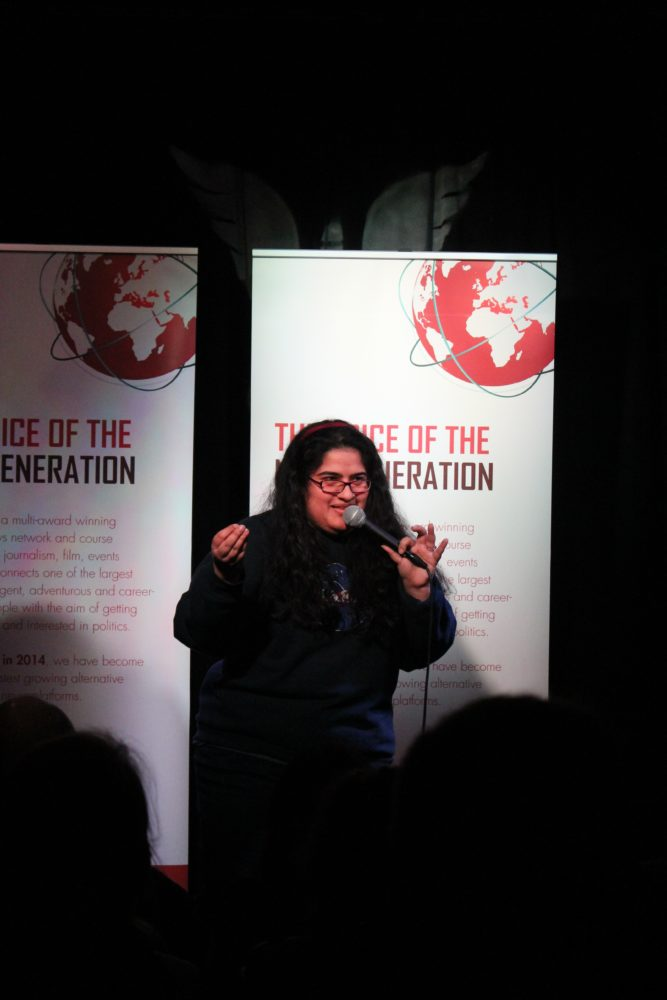 An all-female comedy night by Shout Out UK on International Women's Day!