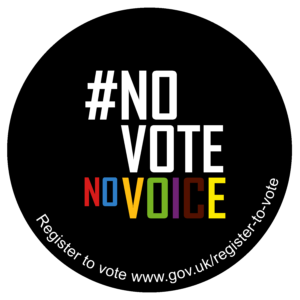 #NoVoteNoVoice – London Voter Registration Week 2020