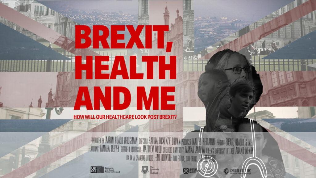 Brexit, Health & Me with Sheffield University & Queen's University Belfast