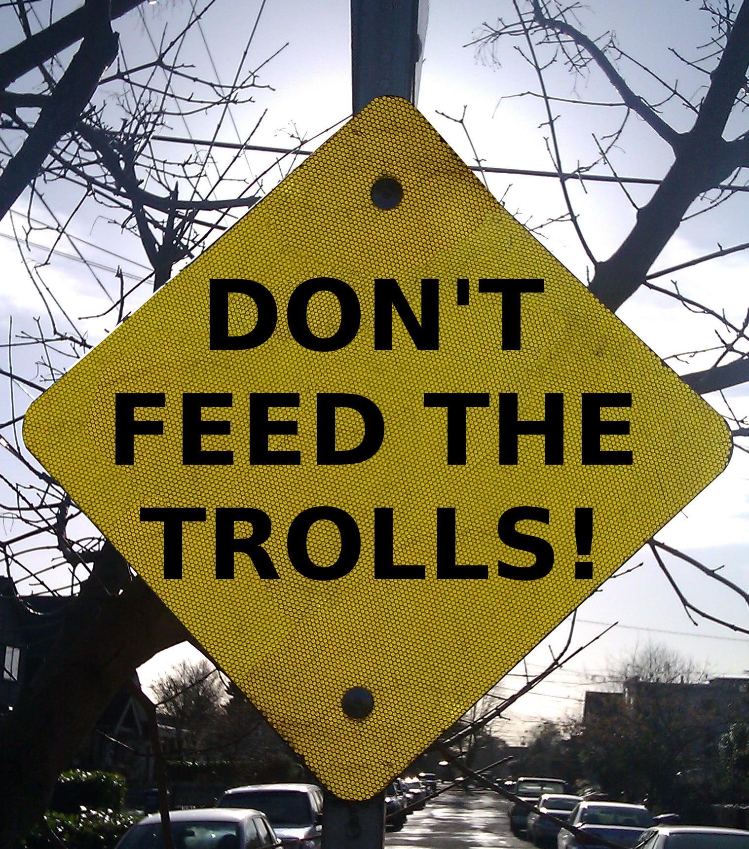 Censorship against Trolls would be censorship against us all