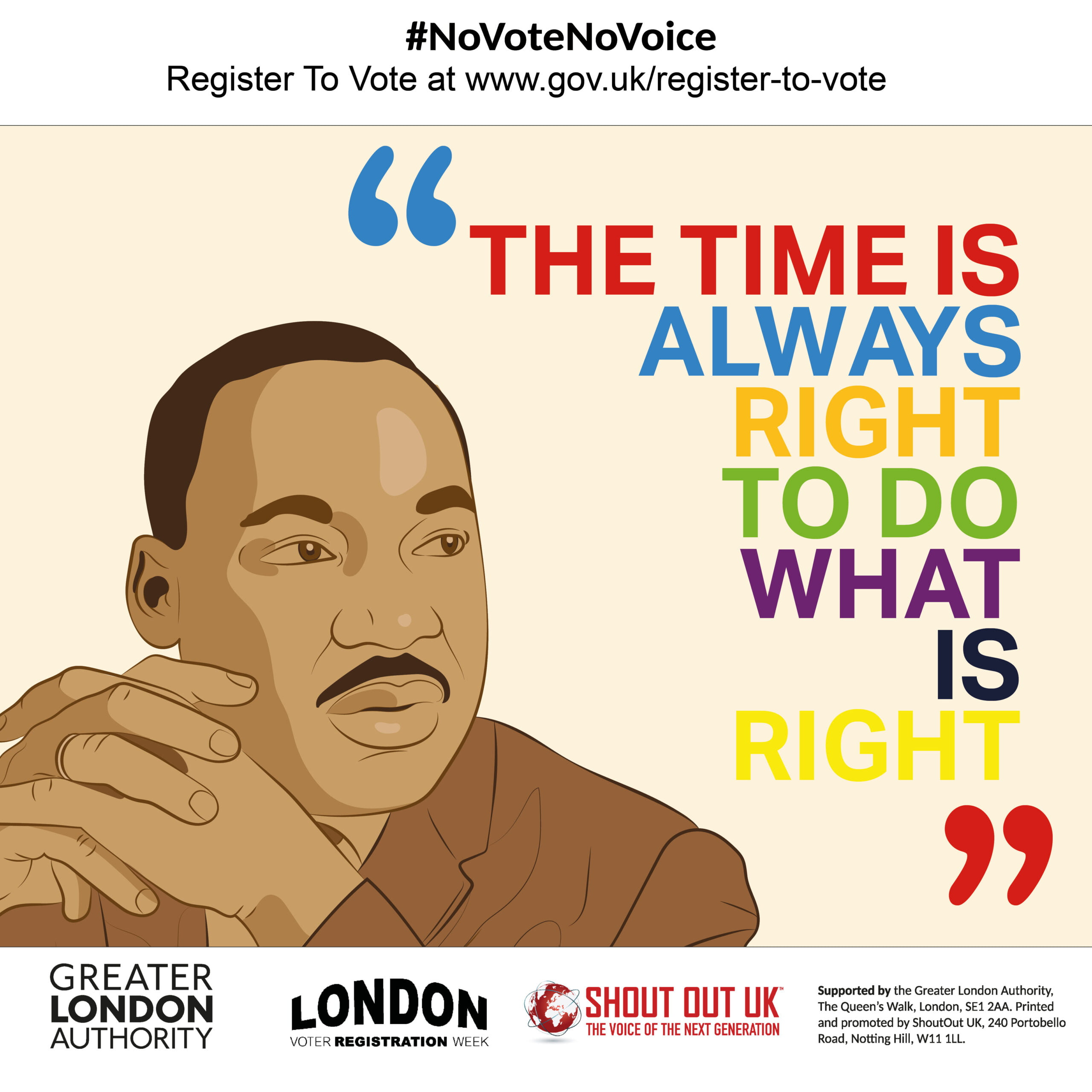 We boosted youth voter registration by 23% during London Voter Registration Week 2020!