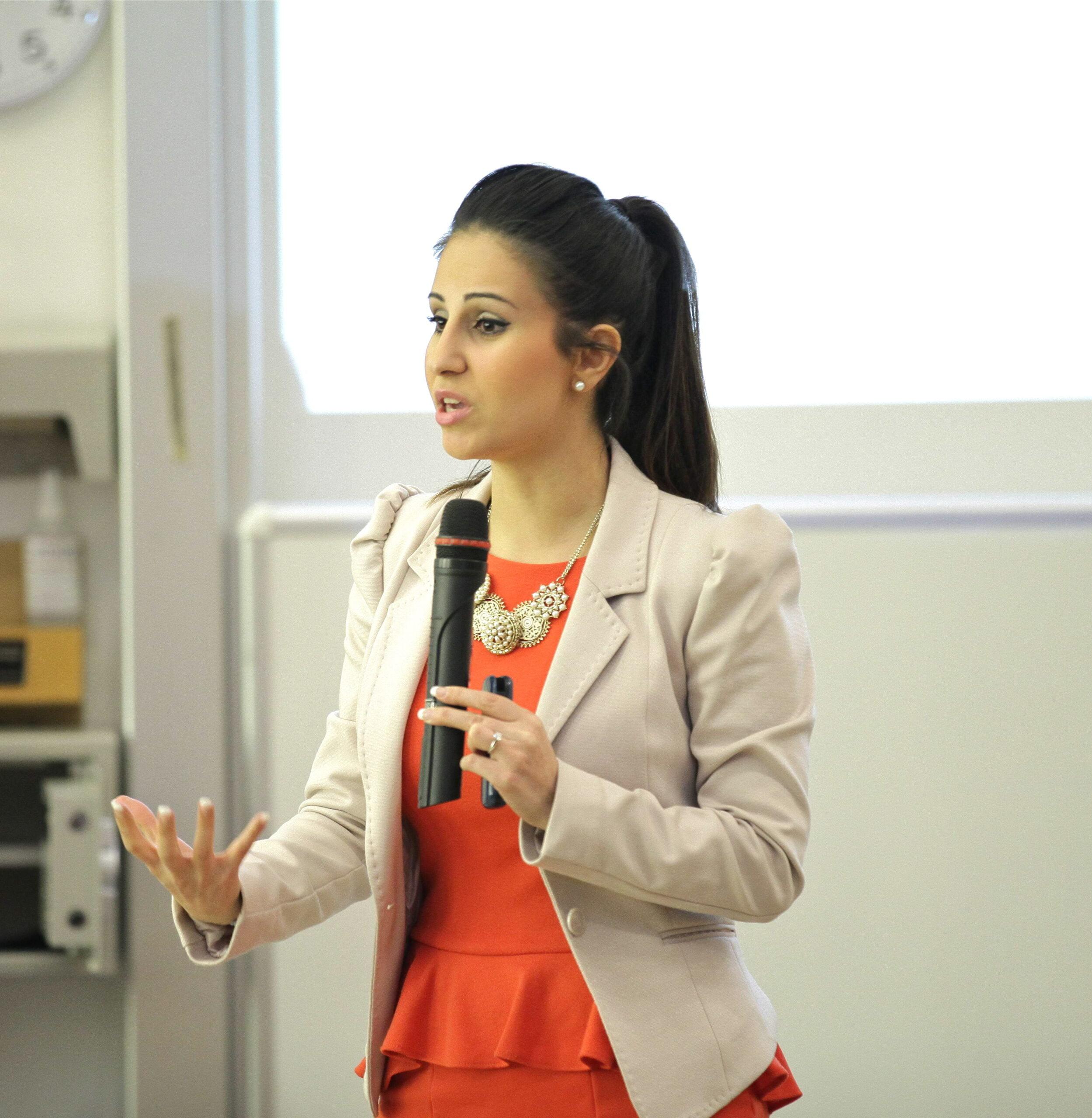 Melody Hossaini Female Social Entrepreneur young social entrepreneur