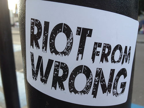 Riot from Wrong