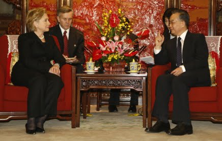 clinton and china