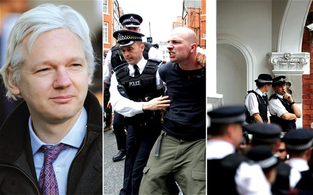 embassy and assange