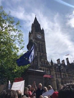 Manchester protests are not about Brexit, but fair play