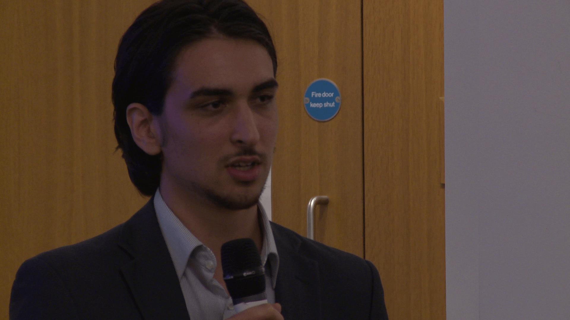 Matteo Bergamini | Shout Out UK | Parliament Week
