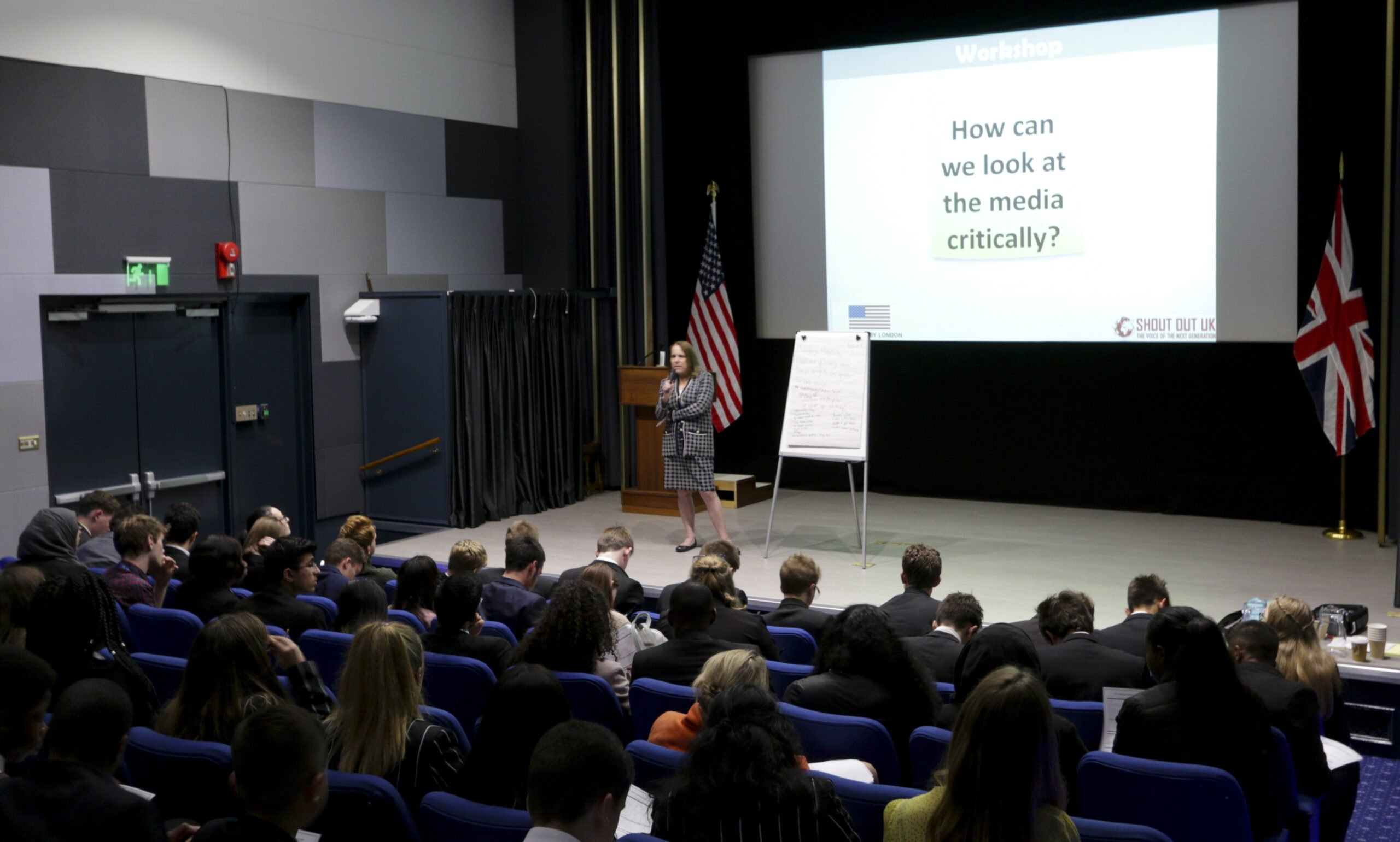 Young People Talk Media Literacy at the US Embassy