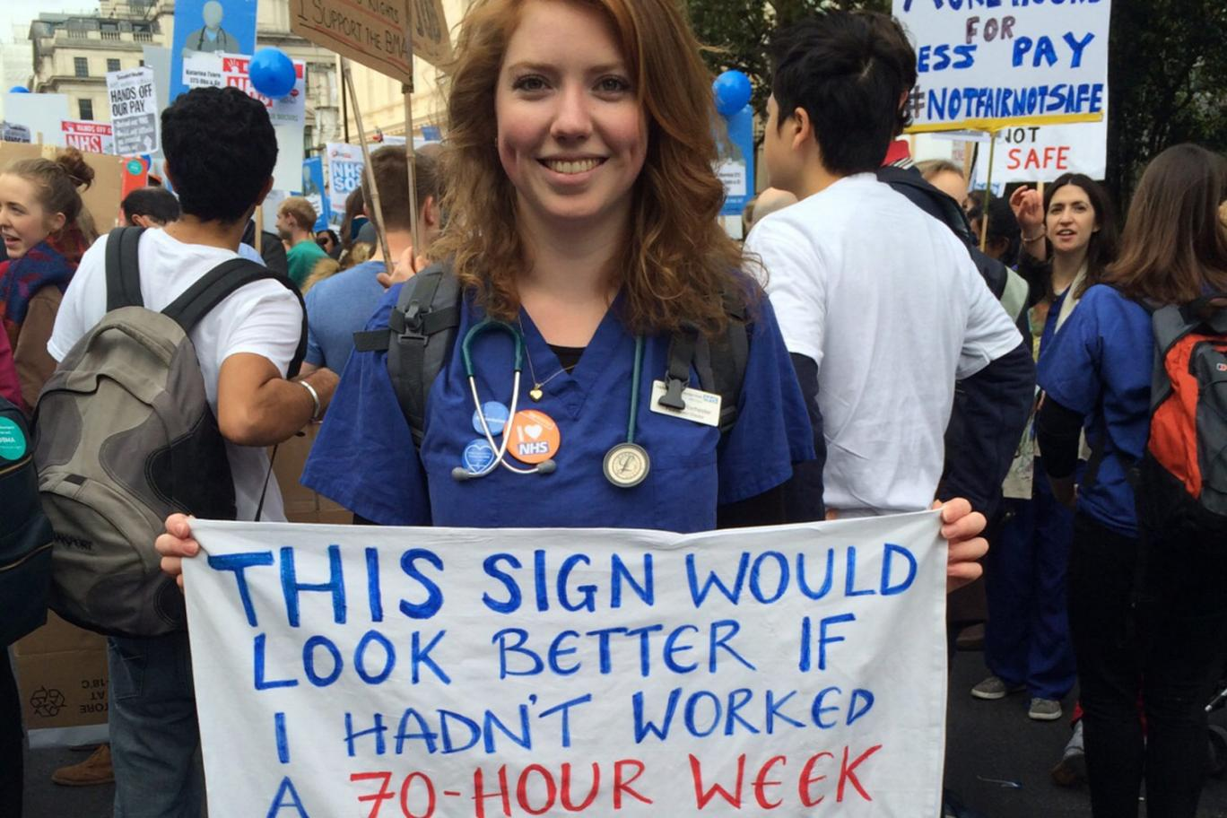 Junior doctors fight for the health of this country