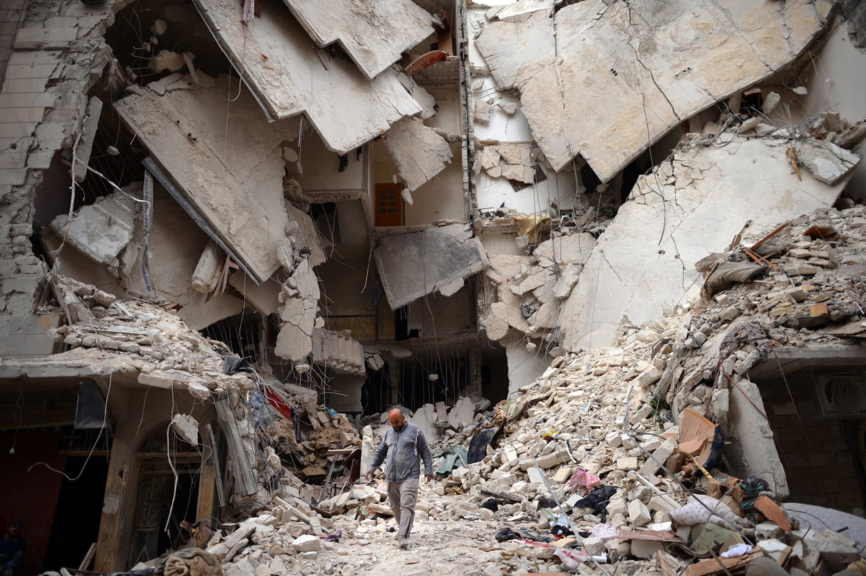 Syrian War has damaged the lives of many innocent people